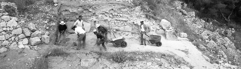 Excavation on the North Drain area